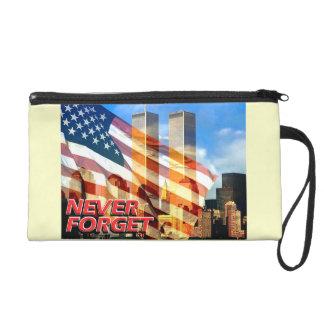 Remember The September 11, 2001 Terrorist Attacks Wristlet Purse