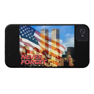 Remember The Terrorist Attacks on 9/11/01 iPhone 4 Case-Mate Cases
