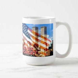 Remember The Terrorist Attacks on 9/11/01 Coffee Mug