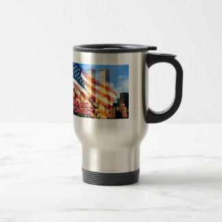 Remember The Terrorist Attacks on 9/11/01 Travel Mug