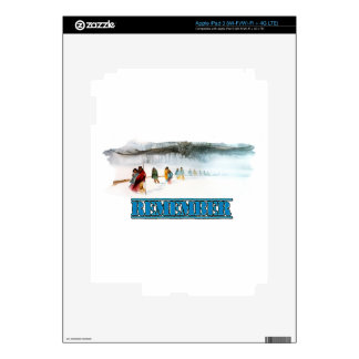 Remember the Trail of Tears Decal For iPad 3