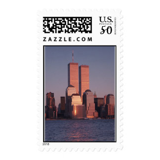 Remember the Twin Towers Postage