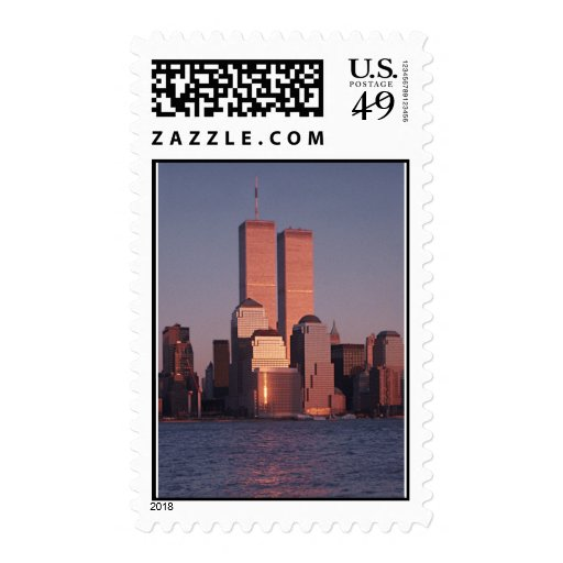 Remember the Twin Towers Stamp
