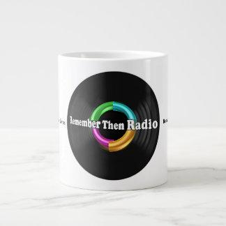 Remember Then Radio Jumbo Mug