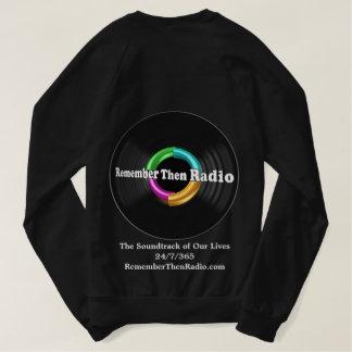 Remember Then Radio Logo Dark Sweatshirt