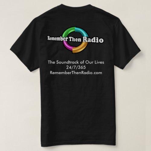 Remember Then Radio Logo Dark Tee