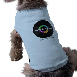 Remember Then Radio Logo Doggie Tee