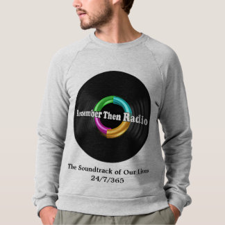 Remember Then Radio Logo Sweatshirt White or Gray