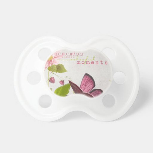 Remember these Moments BooginHead Pacifier