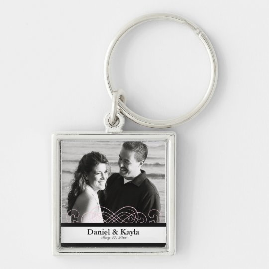 """Remember This"" Personalized Photo Keepsake Keychain"
