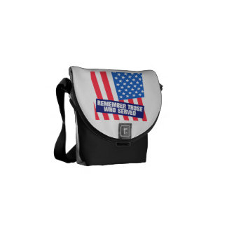 Remember Those Who Serve.png Courier Bags