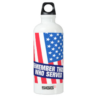 Remember Those Who Serve Water Bottle
