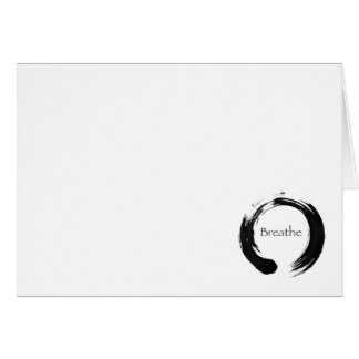 Remember to Breathe Stationery Note Card