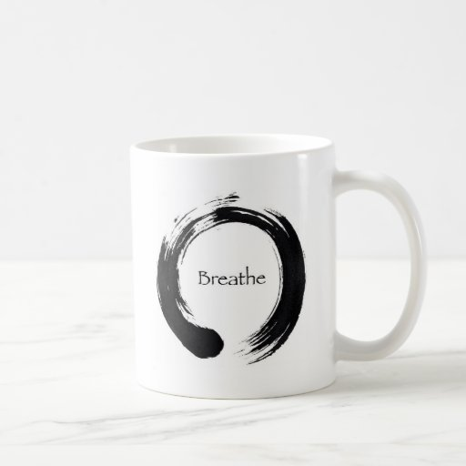 Remember to Breathe! Classic White Coffee Mug