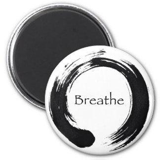 Remember to Breathe! Fridge Magnet
