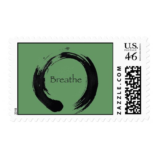 Remember to Breathe! Postage Stamp