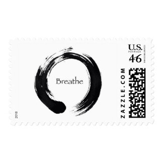 Remember to Breathe Postage Stamps