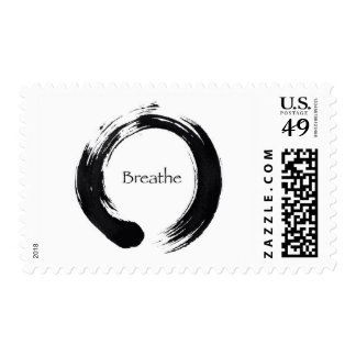 Remember to Breathe! Postage Stamps