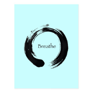 Remember to Breathe! Postcard