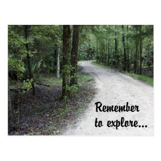 Remember to Explore Postcard