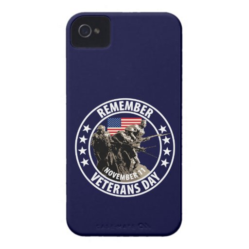 Remember Veterans Day iPhone 4 Covers