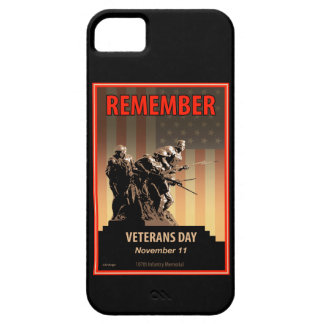 Remember Veterans Day iPhone SE/5/5s Case