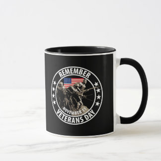 Remember Veterans Day Mug
