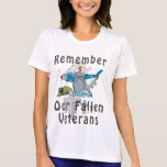 Remember Veteran's Day T Shirts