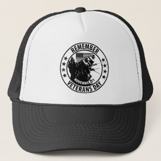 Remember Veterans Day Trucker Hat