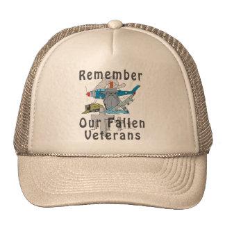 Remember Veteran's Day Trucker Hat