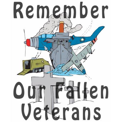 Remember Veteran's Day shirt