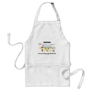 Remember We All Eat Alike At The Cellular Level Adult Apron