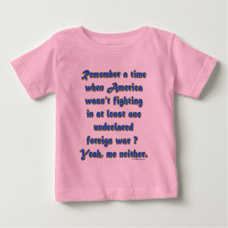 Remember When Foreign Wars Baby T-Shirt