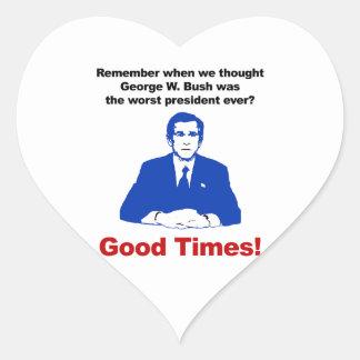 Remember when? heart sticker