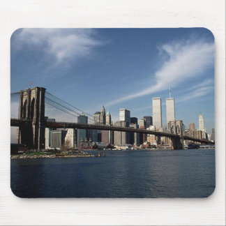 Remember When ~ In Memoriam ~ Twin Towers WTC NYC Mouse Pad