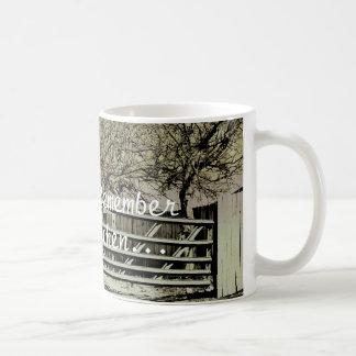 Remember when...mug classic white coffee mug