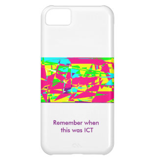 Remember when this was ICT iPhone 5C Case
