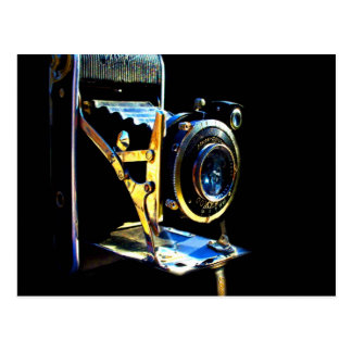 Remember wonderful love moments old camera postcard
