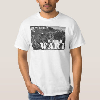 Remember World War 1 T-Shirt