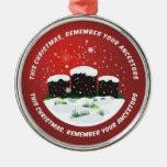 Remember Your Ancestors Christmas Tree Ornament