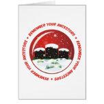 Remember Your Ancestors Snow Globe Card