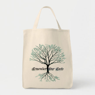 Remember Your Roots Grocery Bag