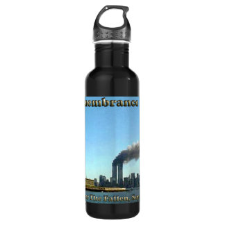 Rememberance Day 911 Sept. 11, 2001 Stainless Steel Water Bottle