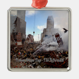 Rememberance Day - The Aftermath Metal Ornament
