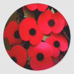 Rememberance Round Sticker