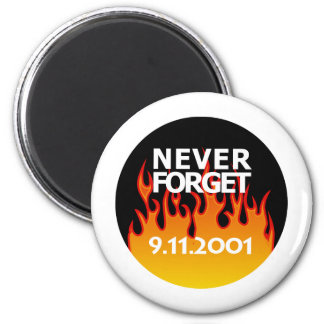 Rememberance Sept 11 2001 2 Inch Round Magnet
