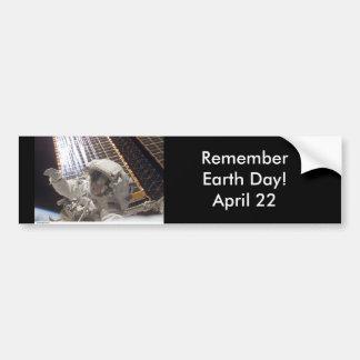 RememberEarth Day!  April 22 Bumper Sticker