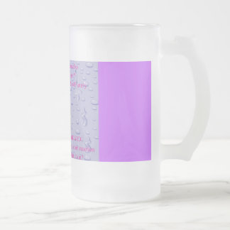 Remembering 16 Oz Frosted Glass Beer Mug