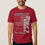 Remembering 9/11 - Double Sided T-Shirt