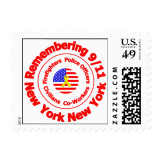 Remembering 9/11 postage